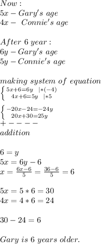 Now:\